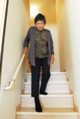 階段の勾配の緩和